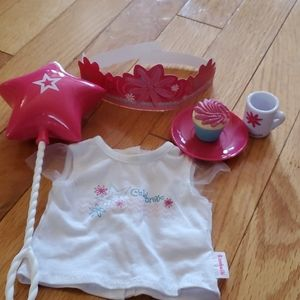 American Girl Doll birthday set